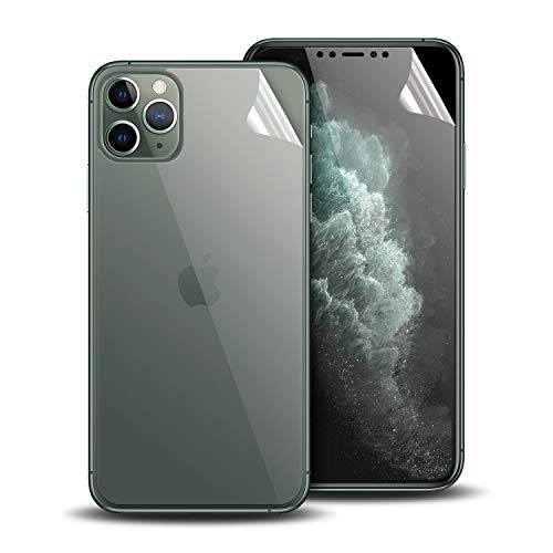 Olixar voor iPhone 11 Pro Beschermer voor voor- en achterkant - Case Friendly Protection - TPU Design - Easy Application - for iPhone 11 Pro
