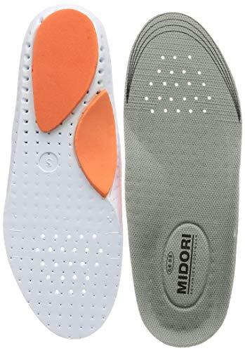 [ミドリ安全] 安全靴向けインソール かかとクッション アーチクッション E01 メンズ グレイ L