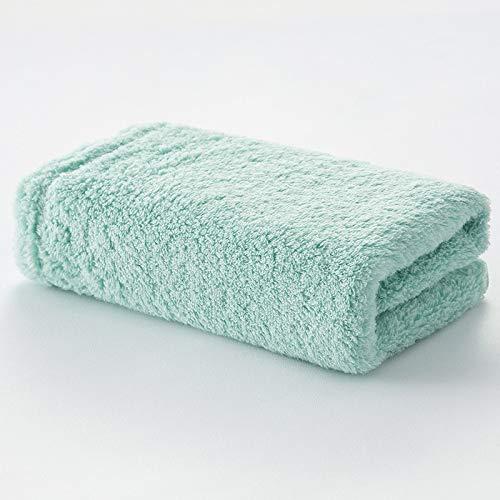 CMZ Hilados de algodón Puro sin torsión Toallas Simples Pareja Toalla de Color sólido para Adultos Toalla Simple Absorbente Suave (34x80 cm)