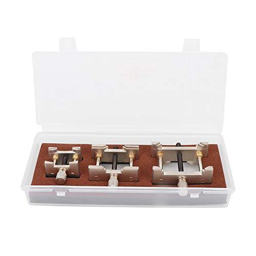 No es fácil de oxidar para un Uso prolongado Material de Metal de Calidad Práctica Herramienta de reparación de Relojes para la reparación de Relojes para la fabricación de Joyas,