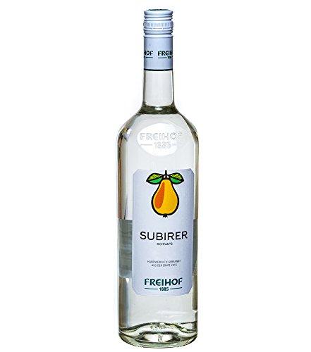 Freihof 1885 Subirer Schnaps / 38% vol. / 1,0 Liter-Flasche
