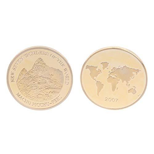 Monedas conmemorativas de Oro Chapado en Monedas de Perú para la colección de Arte de Souvenirs W20