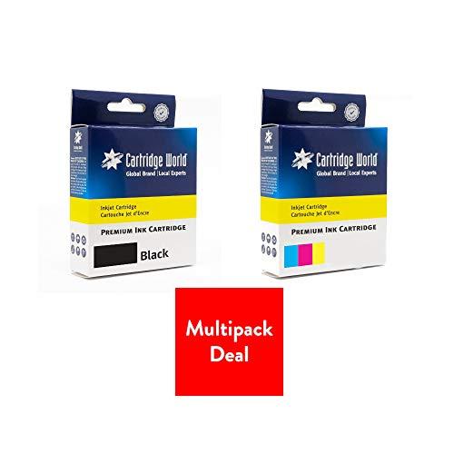 Cartridge World Cartucho de tinta compatible con HP 301XL, color negro