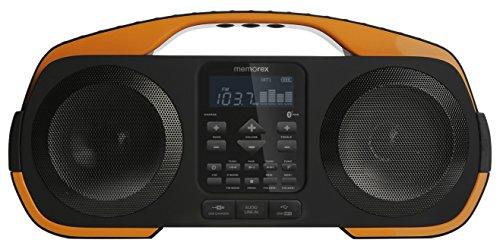 Memorex Bluetooth Wireless Beach Boombox - Splash...