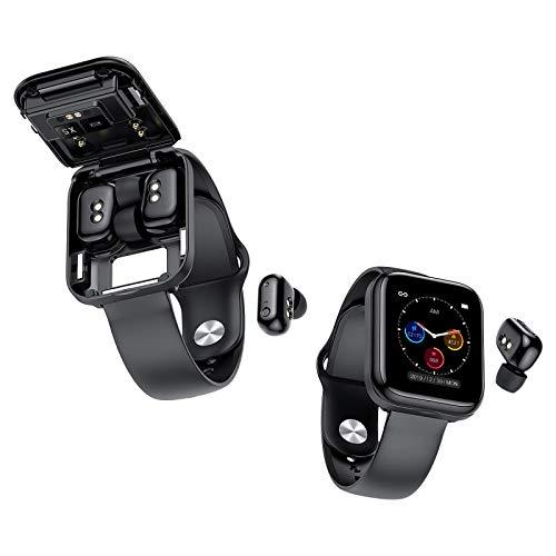 GUOJIAYI Bluetooth Armband 2-in-1 X5 Smart Sportuhr Bluetooth 5.0