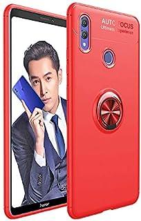 جراب هاتف محمول Huawei P20 Pro مزود بقاعدة تثبيت بالشفط المغناطيسي من مادة TPU