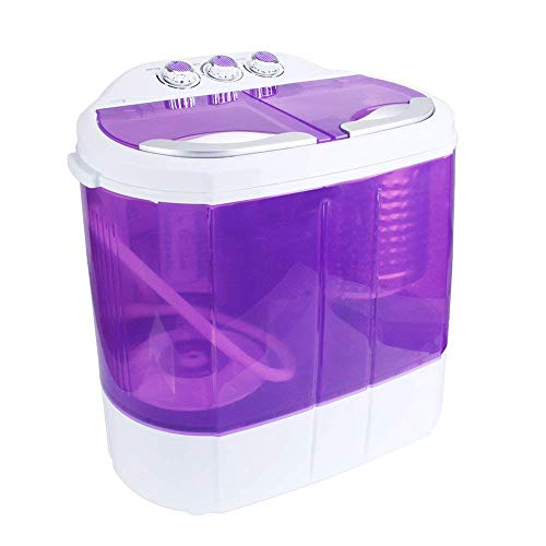 Display4top Mini-lavatrice • Lavatrice • Capacità 3.6 kg - Spina standard europea(Porpora)
