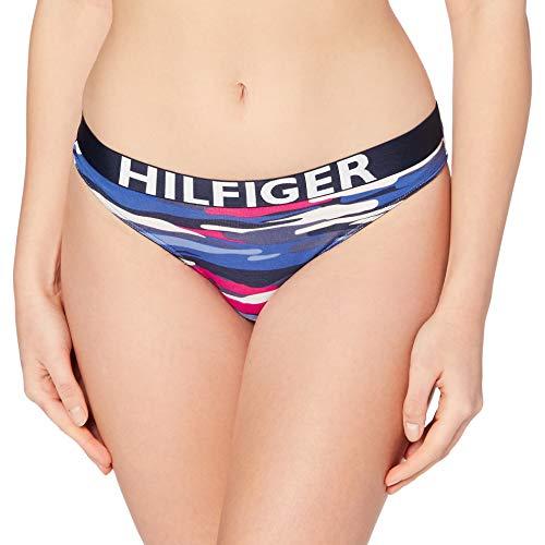 Tommy Hilfiger Bikini Camo Print Capa de Base Inferior, Cerezas Jubileo, S para Mujer