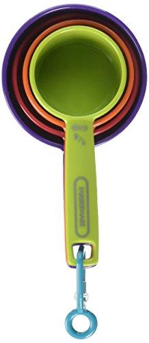 Farberware Farberware Professional Set Of 4 Measuring Cups, Mixed Colors, Assorted