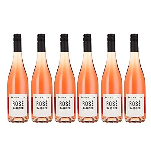 Markus Schneider Rosé Saigner Roséwein deutscher Wein trocken Pfalz (6 Flaschen)