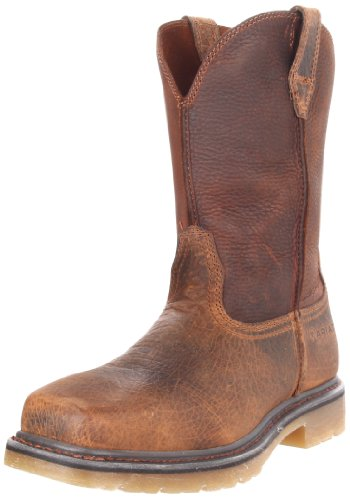 Ariat Men's Rambler Pull-on Steel Toe Work Boot, Earth/Brown, 10 M US