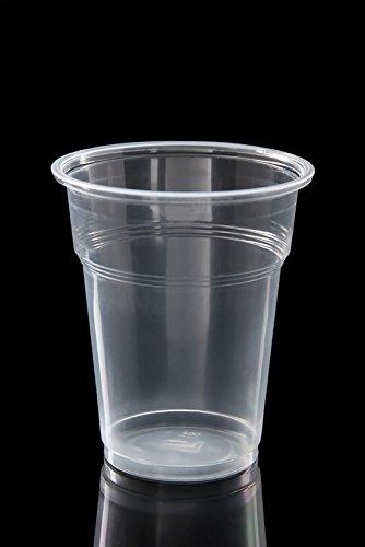 Ol-Gastro-Bedarf 100 Trinkbecher PP Ausschankbecher Plastikbecher transparent 0,3Liter 300ml