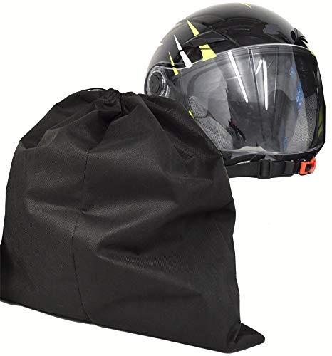 Duckbill Helmet Bag for Motorbike Motorcycle Ski Breathable Large Black