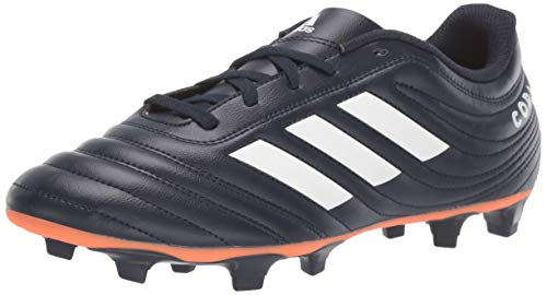 adidas Unisex-Adult Copa 19.4 Firm Ground Soccer Shoe, Legend Ink/White/hi-res Coral, 9 M US