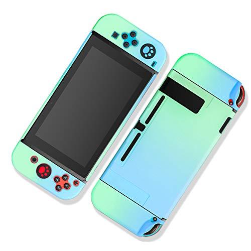 Homi2019 - Carcasa para interruptor de protección fina y resistente para Nintendo Switch y Joy con Controller con absorción de golpes y anticarcasa, funda