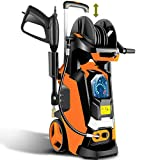 TEANDE Electric Pressure Washer 3800 PSI Smart High Pressure Power Washer 2.8 GPM 1800W Powerful...