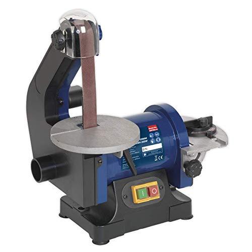 Sealey SM750 Belt/Disc Sander, 25mm x 762mm/125mm, 250W/230V