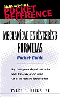 Mechanical Engineering Formulas Pocket Guide (McGraw-Hill Pocket Reference)