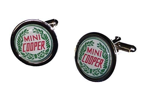 Mini Cooper Badge Manschettenknöpfe
