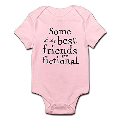 CafePress Fictional Friends Infant Bodysuit - Cute Infant Bodysuit Baby...