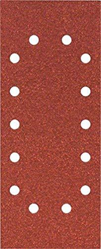 Bosch Professional Schleifblatt für Schwingschleifer Holz und Farbe Best for Wood and Paint (10 Stück, Körnung 80, C470)