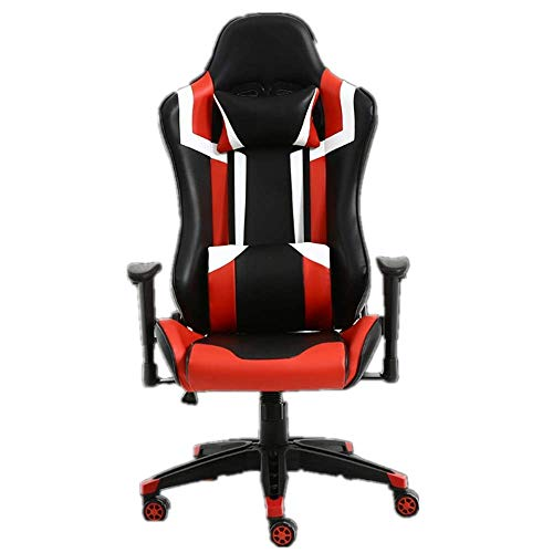 YO-TOKU Premium Stoel van de Computer Gaming Office Chair PU Leather kuipstoel Racing Bureau Computer Stoel (Kleur: Picture Color, Maat: 65X65X125CM) Stoelen Living Room Furniture