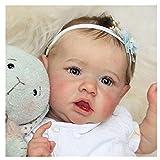 GLIANG Silicona NiñA ReciéN Nacida, 22 Pulgadas MuñEca Real Barata, como Un Bebe De Verdad Munecas Bebes Reales, It Is The Best Gift For Children
