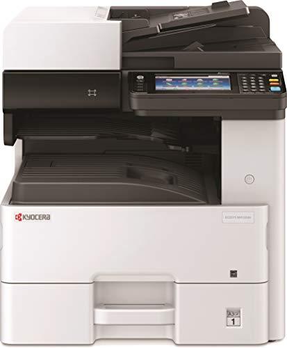 Kyocera Klimaschutz-System Ecosys M4132idn/KL3 4-in-1 SW Multifunktionsdrucker. 3 Jahre Kyocera Life vor Ort Service. Duplex-Einheit, 32 Seiten pro Minute mit Mobile-Print-Funktion. Formate bis DIN A3