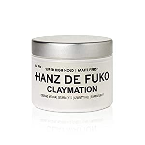 Beauty Shopping Hanz de Fuko Claymation- Premium Mens Hair Styling Clay with Matte Finish (2 oz)
