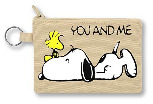 Snoopy Woodstock You Geldbörse mit Reißverschluss