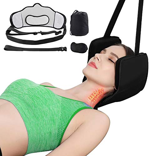 BREATH KAVASS Travel Pillow for Nap Neck Pillow for Neck Chin Lumbar and Leg Support Traveling Pillow on Airplane Bus Train or at Home …