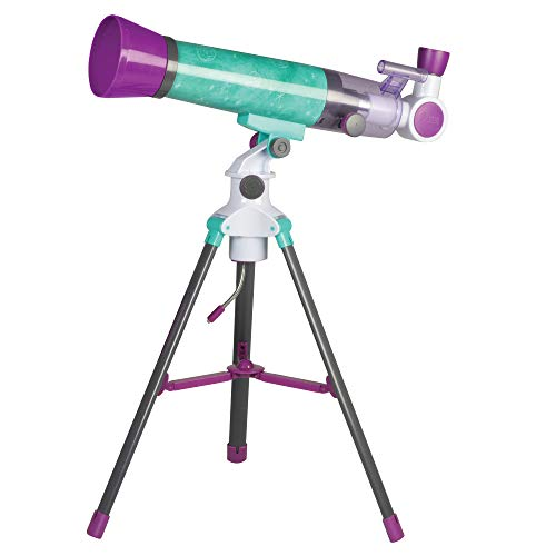 Educational Insights Nancy B's Science Club MoonScope, Telescope for Kids, Great to Explore Space, Moon, & Stars