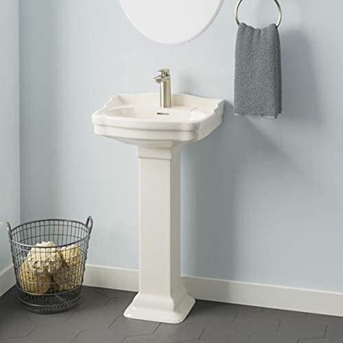 Magnus Home Products Chipley 100 China Bathroo Pedestal Vitreous Luxury goods All stores are sold