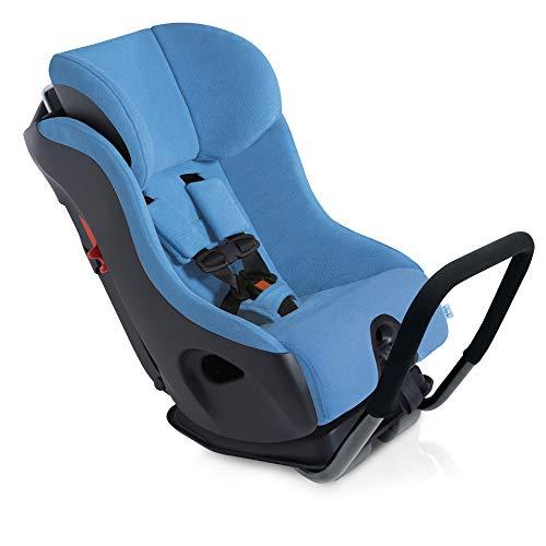Clek Fllo Convertbile Car Seat, Ten Year Blue (Crypton C-Zero Performance Fabric)