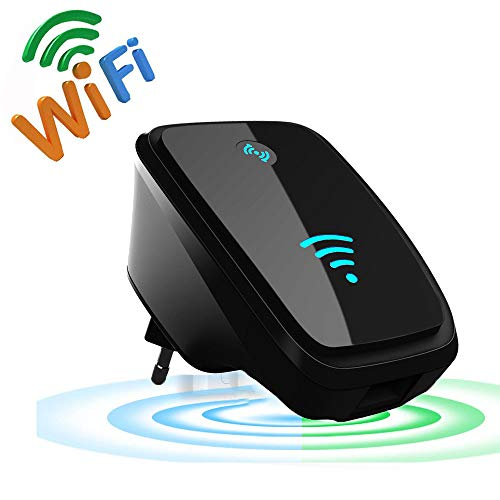 Repetidor De WiFi Profesional, Amplificador De ExtensióN De WiFi, Amplificador De SeñAl De WiFi InaláMbrico PortáTil De 300 Mbps