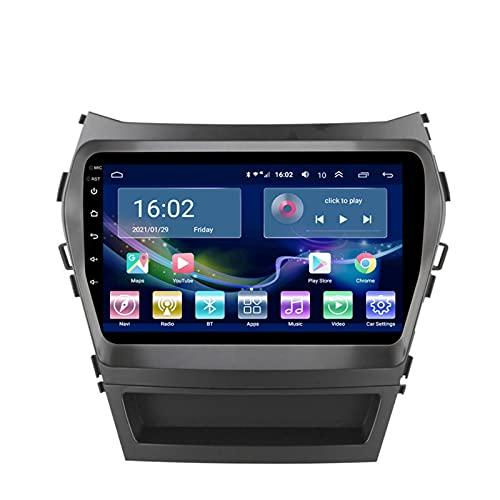 XXRUG Autoradio per Hyundai IX45 Santa Fe 2013-2017 Radio Navigation Player Android 10.0 unità Principale con Carplay Touchscreen IPS da 10.1 Pollici BT/WiFi con Telecamera di Backup