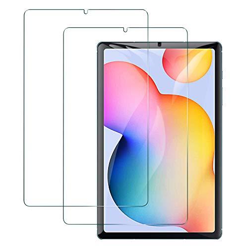 Benazcap Schutzfolie für Samsung Galaxy Tab S6 Lite, 9H Härte, 2.5D Displayschutzfolie Panzerglas (Gehärtetem Glas) Schutzglas Für Samsung Galaxy Tab S6 Lite 10.4 Zoll 2020 (P610/P615), 2 Stück