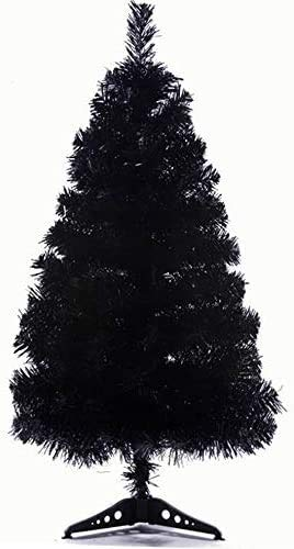 StillCool 2ft / 60cm Artificial Christmas Tree Christmas Party Home Decoration (Black)-New