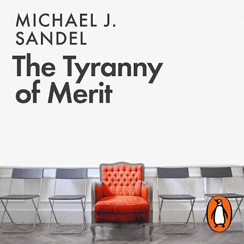 『The Tyranny of Merit』のカバーアート
