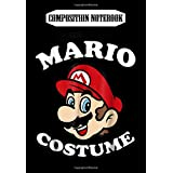 Composition Notebook: Nintendo Super Mario My Mario Costume Graphic, Journal 6 x 9, 100 Page Blank Lined Paperback Journal/Notebook