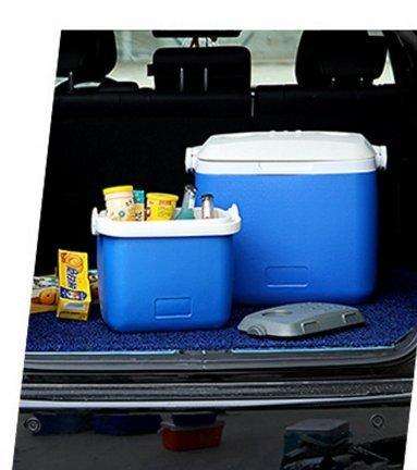 L&Z Mini Frigo Pour Voiture Et Camping Classe Énergétique A ++ 12L Bleu