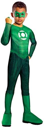 Green Lantern Child's Hal Jordan Costume - One Color - Large