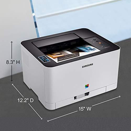 Samsung SL-C430W Color 2400 x 600 dpi A4 WiFi - Impresora láser ...