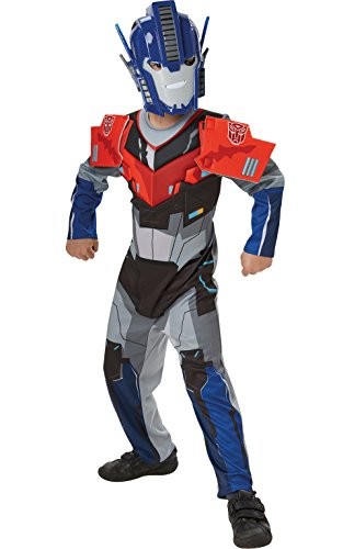 Deluxe Optimus Prime Transformers Robots In Disguise - Kids Costume 3-4 Years