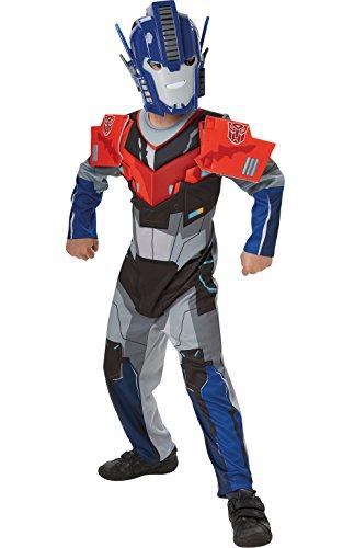 Deluxe Optimus Prime Transformers Robots in Disguise - Traje de niños de 3 - 4 años
