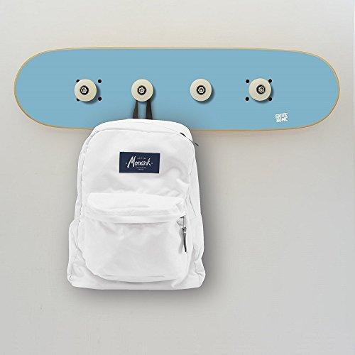 Garderoben für Zimmer Skateboard für Skaters, Wandgarderoben blau