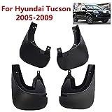 Guardabarros De Coche Para Hyundai Tucson 2005 2006 2007 2008 2009 Accesorios Para Faldillas Antibarro