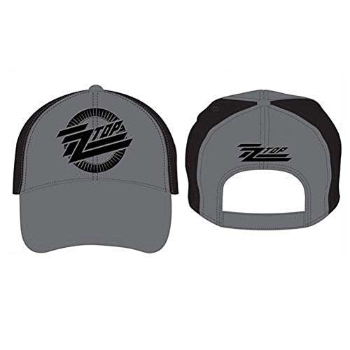 ZZ Top Circle Logo - Baseball Cap Unisex Cap schwarz/grau, 100% Baumwolle, Band-Merch, Bands