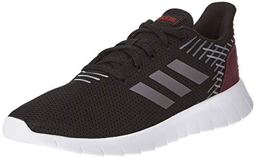 Adidas Men Asweerun Cblack/Grefiv/Maroon Running Shoes-6 UK (EE8445)