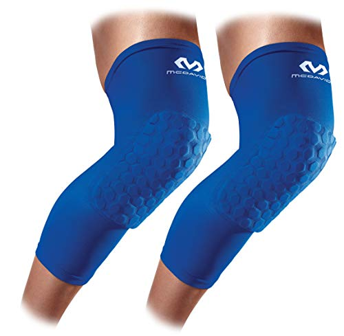 McDavid Unisex-Adult Beinstulpe Hexforce, Royalblau, XL
